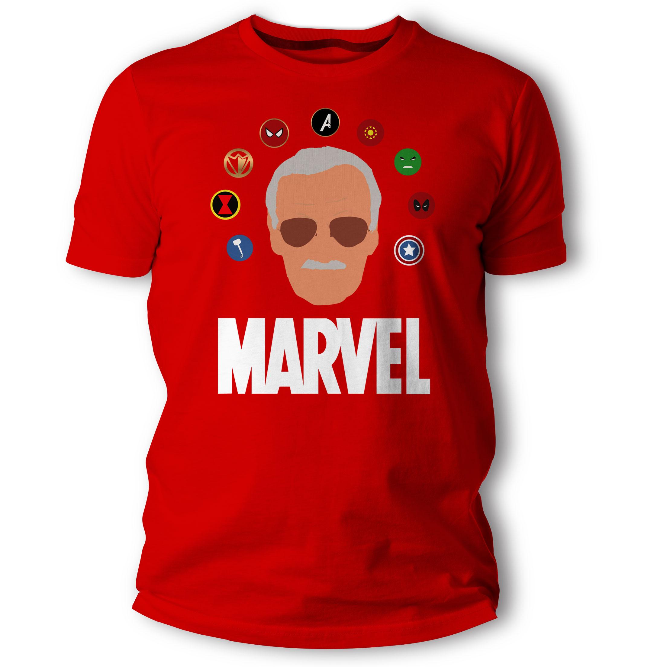 6236c17dc4 Regalame.ec - Camiseta Stan Lee - Avengers